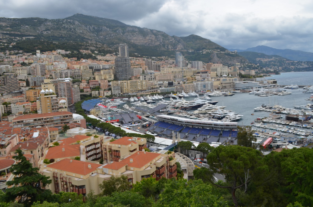 The principality of Monaco boasts beautiful sites.